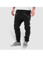 Urban Classics joggingbroek Zip Deep Crotch zwart