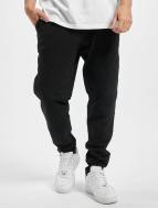Urban Classics joggingbroek Diamond Stitched zwart