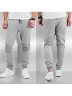 Urban Classics Jogginghose Deep Crotch Terry Biker grau