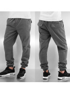 Urban Classics Jogginghose Stretch Twill grau