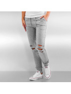 Urban Classics Jogginghose Cutted Terry grau