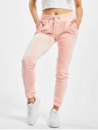 Urban Classics Jogginghose Velvet pink