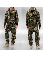 Urban Classics jumpsuit Camo camouflage
