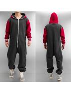 Urban Classics jumpsuit College grijs