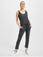 Urban Classics jumpsuit Ladies Melange grijs