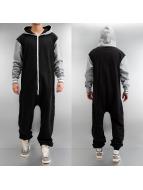 Urban Classics jumpsuit College zwart
