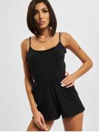 Urban Classics jumpsuit Spaghetti zwart