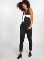 Urban Classics jumpsuit Ladies Melange zwart