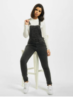 Urban Classics jumpsuit Tiana zwart