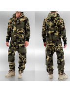 Urban Classics Jumpsuits Camo kamouflage