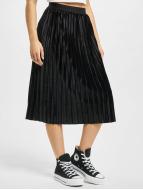 Urban Classics Kjol Velvet Plisse svart
