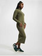 Urban Classics Kleid Ladies Turtleneck olive