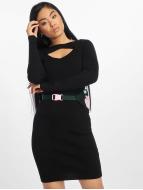 Urban Classics Kleid Cut Out schwarz