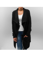 Knitted Long Cape Black...