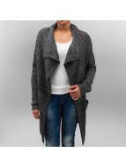 Knitted Long Cape Charco...