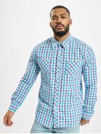 Urban Classics Koszule Tricolor Big Checked fioletowy