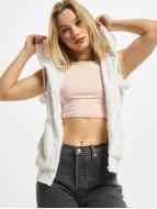 Ladies Teddy Vest White ...