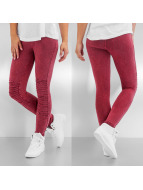 Urban Classics Legging Denim Jersey rood