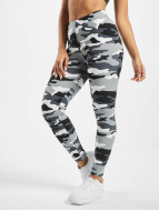 Urban Classics Leggings Ladies Camo blanc