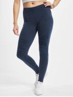 Urban Classics Leggings Denim Jersey bleu