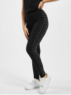 Urban Classics Leggings Side Rivets noir
