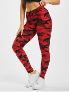 Urban Classics Leggings Camo rouge