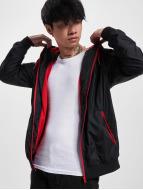 Urban Classics Lightweight Jacket Contrast Windrunner black