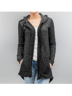 Urban Classics Lightweight Jacket Ladies Melange Terry grey