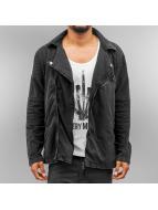 Urban Classics Lightweight Jacket Acid Wash Terry grey