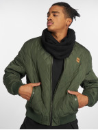 Urban Classics Lightweight Jacket Diamond Quilt Nylon olive