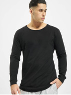 Urban Classics Longsleeve Long Shaped Fashion schwarz