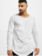 Urban Classics Longsleeve Long Shaped Fashion white