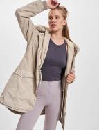 Urban Classics Manteau Garment Washed Long beige