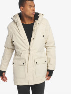 Urban Classics Manteau Hooded Heavy Thumbhole beige