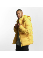 Urban Classics Manteau hiver Hooded Boxy Puffer jaune