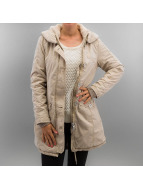 Urban Classics Mantel Garment Washed Long beige