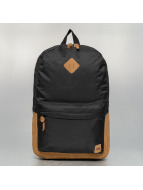 Urban Classics Mochila Leather Imitation negro