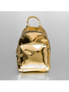 Urban Classics Mochila Mini Metallic oro