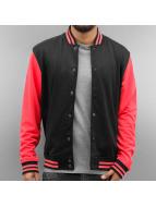 Neon College Jacket Blac...