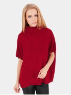 Urban Classics Neuleet Knitted Poncho punainen