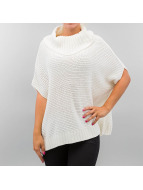 Urban Classics Neuleet Knitted Poncho valkoinen