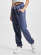 Urban Classics Pantalón deportivo Ladies Spray Dye azul