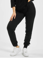 Urban Classics Pantalone ginnico Fitted Athletic nero