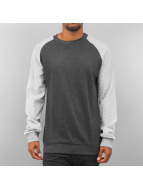 Urban Classics Pullover Inside Out Terry grau