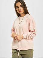 Urban Classics Pullover Oversized Velvet rosa