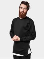Urban Classics Pullover Side-Zip Neopren schwarz