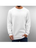 Urban Classics Pullover Side-Zip Neopren weiß