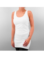 Urban Classics Robe Sleeveless blanc