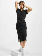 Urban Classics Robe Ladies Slub noir