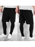 Urban Classics Short 2 in 1 Leggings black